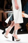 Cuffed ankle heels at BCBGMAXAZRIA