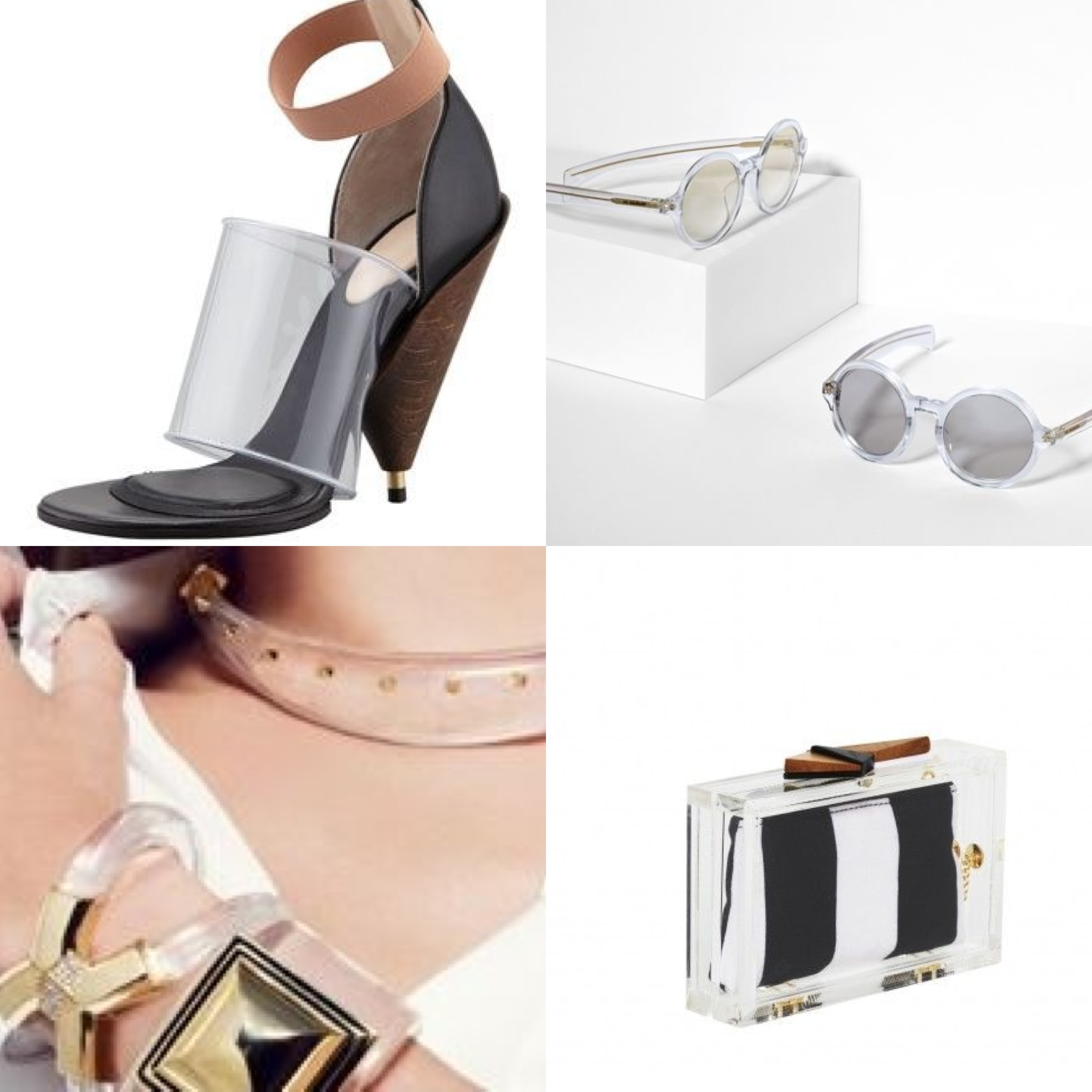 Wear you Would Lucite accessories? images