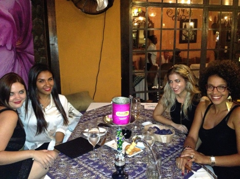 "Meeting with our ""It Girls"" Niska and Vanessa"