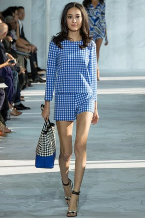Gingham at DVF