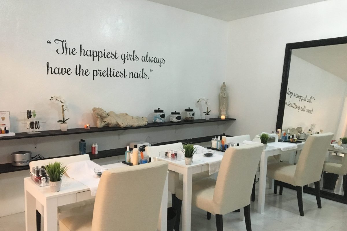 The Nail Bar, Now Open