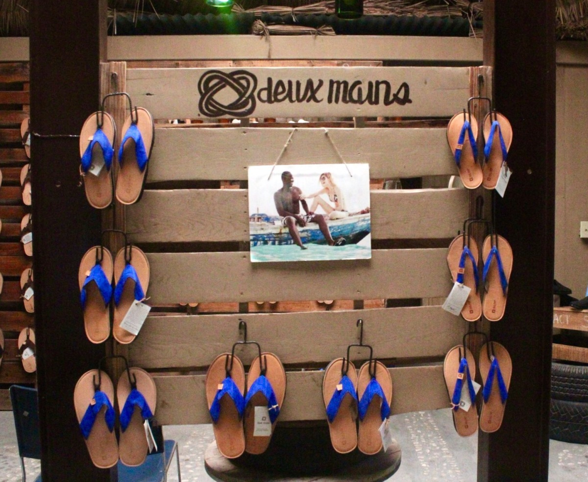 Deux Mains Designs: Creating Sandals From Repurposed Tires